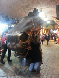 Horse at Stables Market London Camden